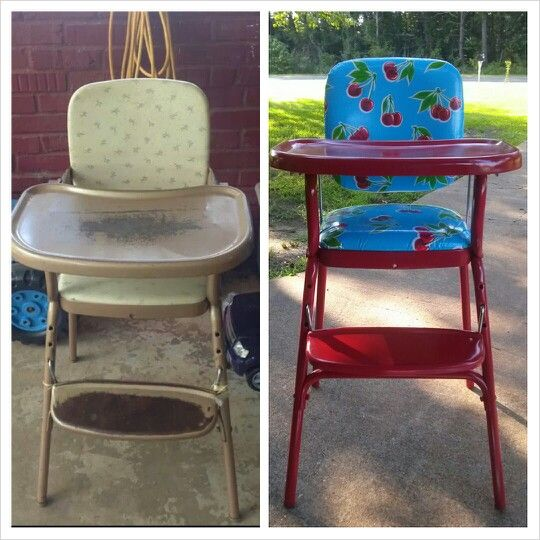 Retro antique high chair. - Best 25+ Antique High Chairs Ideas On Pinterest Prim Decor