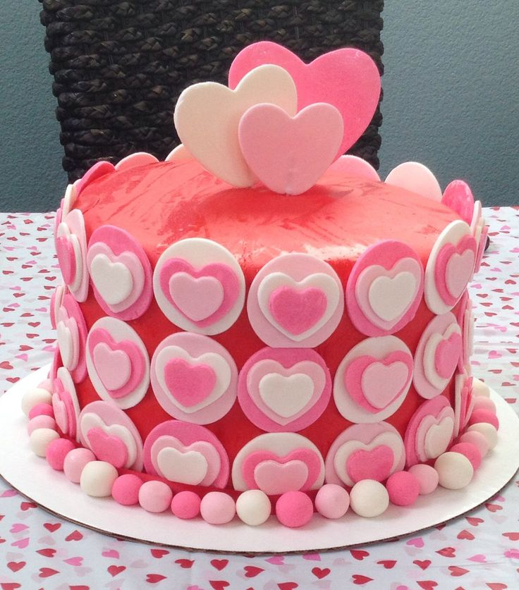 Heart Birthday Cake My Amazing Cakes Pinterest Heart