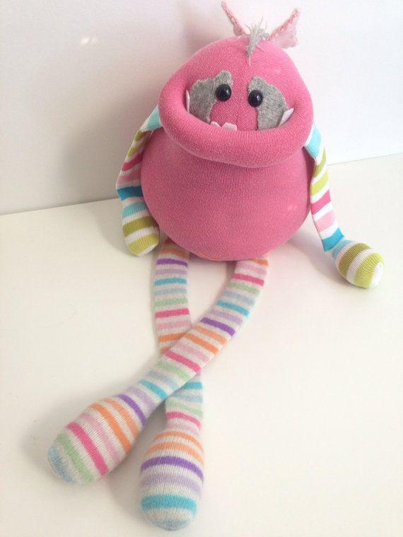 RESERVED Custom Smug Monsters plush toys by BirdIsTheWordDesign