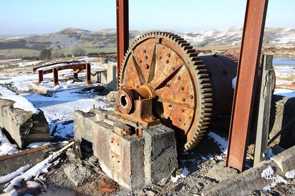Esgair Mwyn Lead Mine, Ffair Rhos, Ceredigion