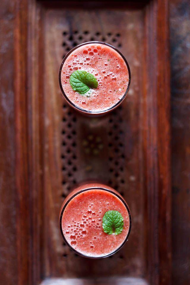 Watermelon Mint Juice | Veg Recipes of India