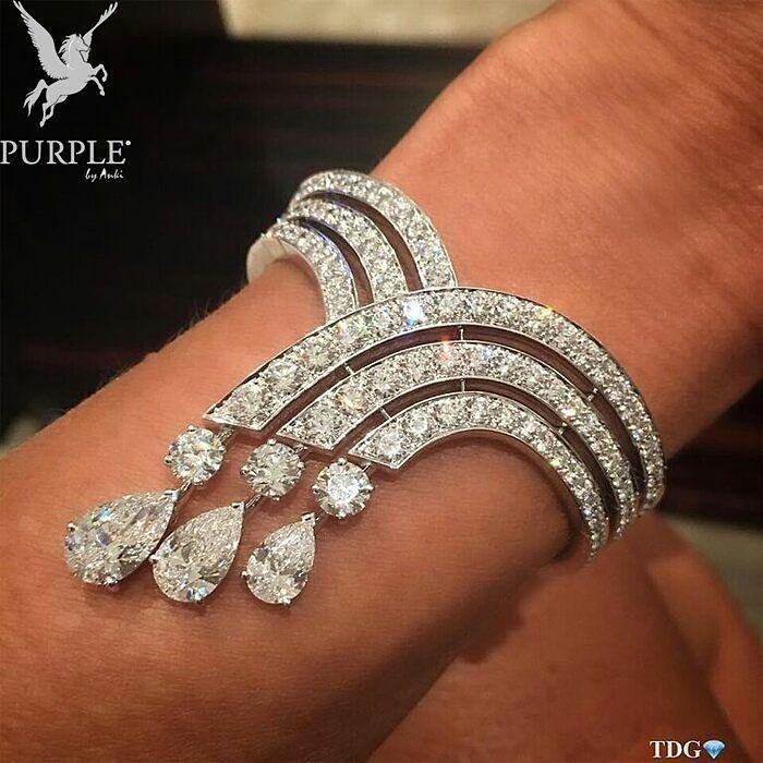 107 best Diamond Bracelets images on Pinterest