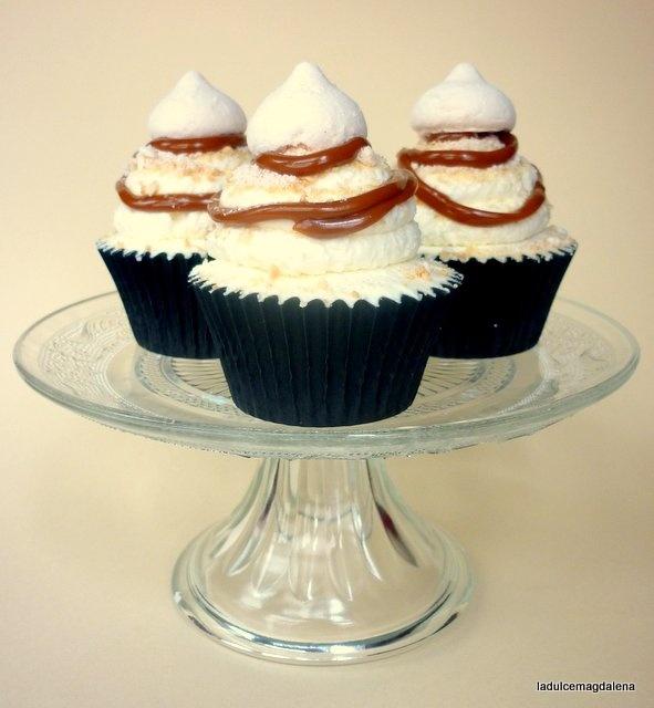 Cupcakes de Polvito Uruguayo... ¡unos cupcakes muy canariones!