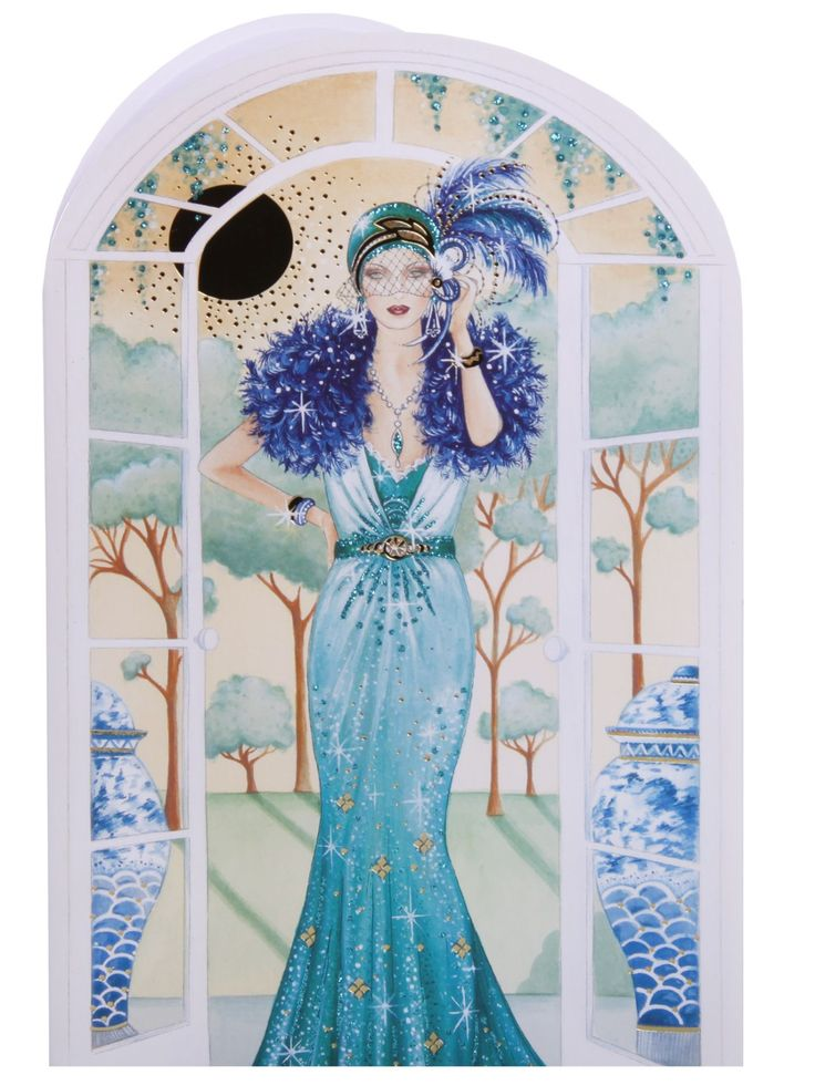 292 best Art Deco Inspirations images – Birthday Cards Clintons
