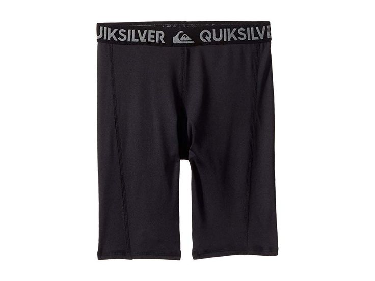 Quiksilver Kids Rashie Shorts (Big Kids) Boy's Swimwear Black