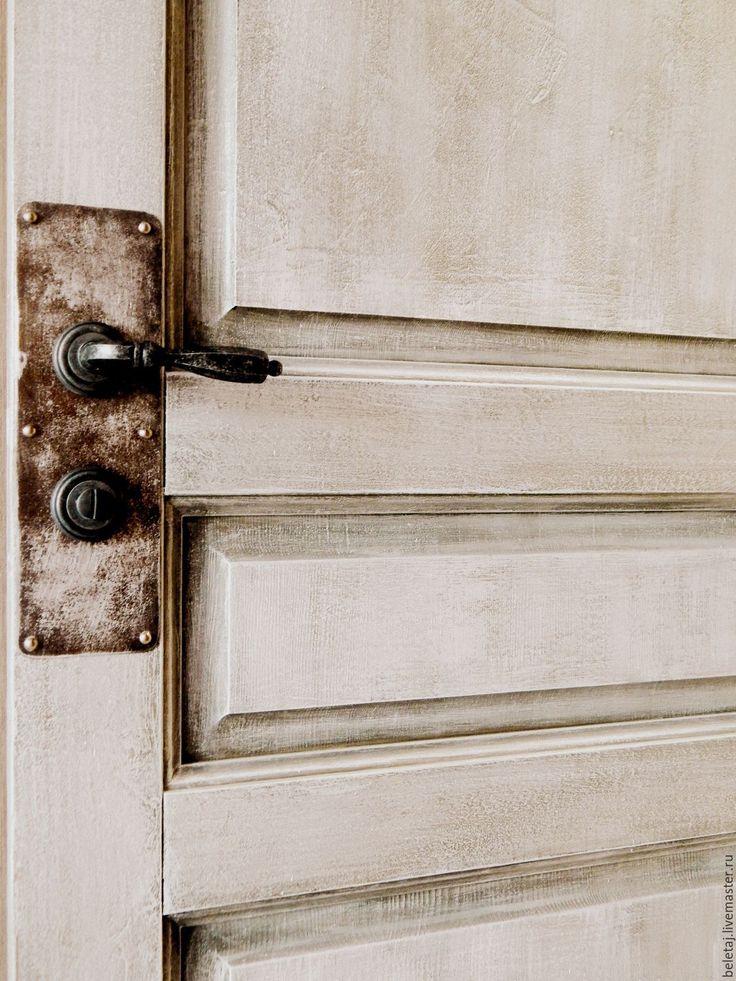 Купить винтажные двери в лофт - серый, лофт, мебель в лофт, двери в лофт, двери на заказ