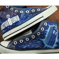 doctor who converse galaxy converse doctor who shoes painted shoes