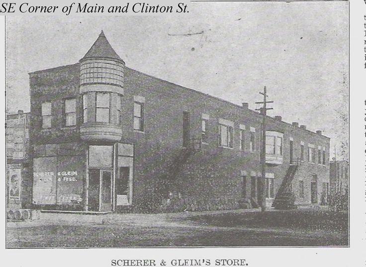 Scherer and Gleim  Flour and Feed Store, Ottawa, Illinois