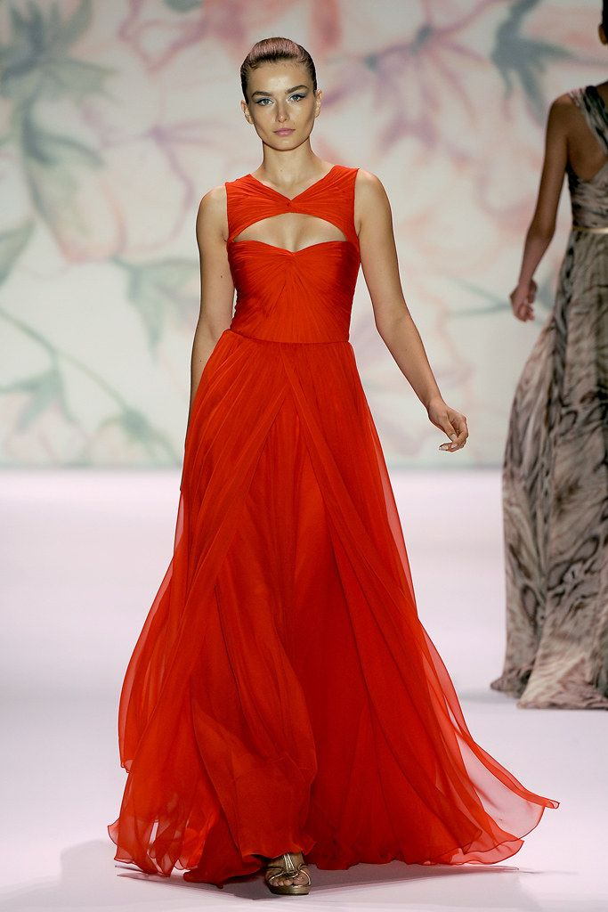 jewelry accessories wholesale china Monique Lhuillier Spring 2011 Ready to Wear Collection Photos   Vogue