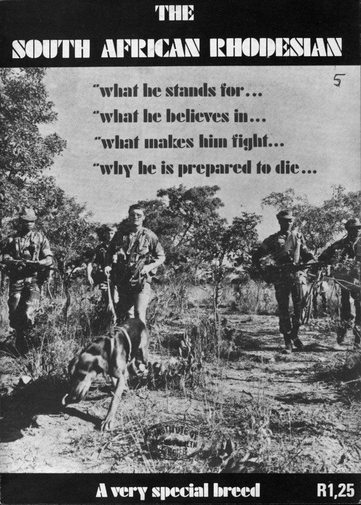 Rhodesian South African Bush wars military man - Google Search