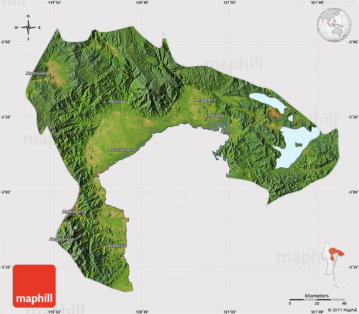 Luwu Land (North of Bone Gulf, Sulawesi)
