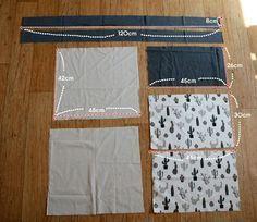 Tuto couture : réaliser un sac fourre-tout en suivant son pas à pas en pictures , facile à coudre