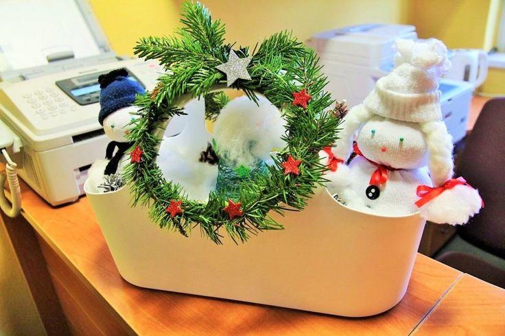 stroik świąteczny, Christmas decoration