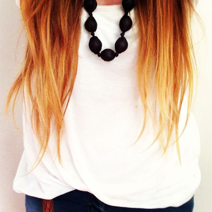 I have had ombre hair like this this summer, totally love it! : )
