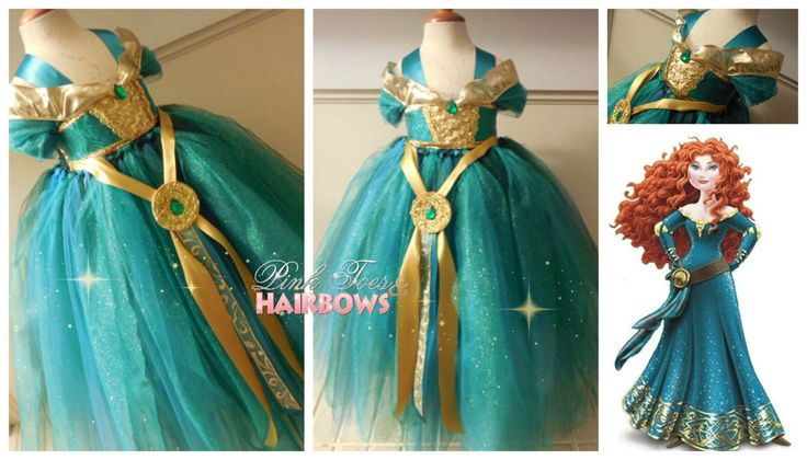 Merida The Brave Tutu dress Merida the brave by GlitterMeBaby