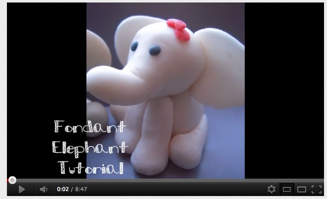 How to make Fondant Elephant