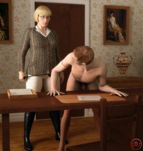 Un esclave avale tout le sperme que lui fait avale une