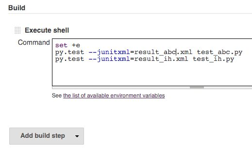 Jenkins execute shell - how to continue on error - InfoHeap