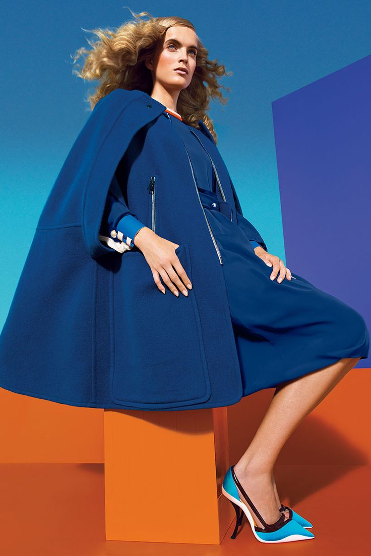 Fall Color Fashion Shoot - Fall 2013 Bright Colors Fashion Editorial - Harper's BAZAAR