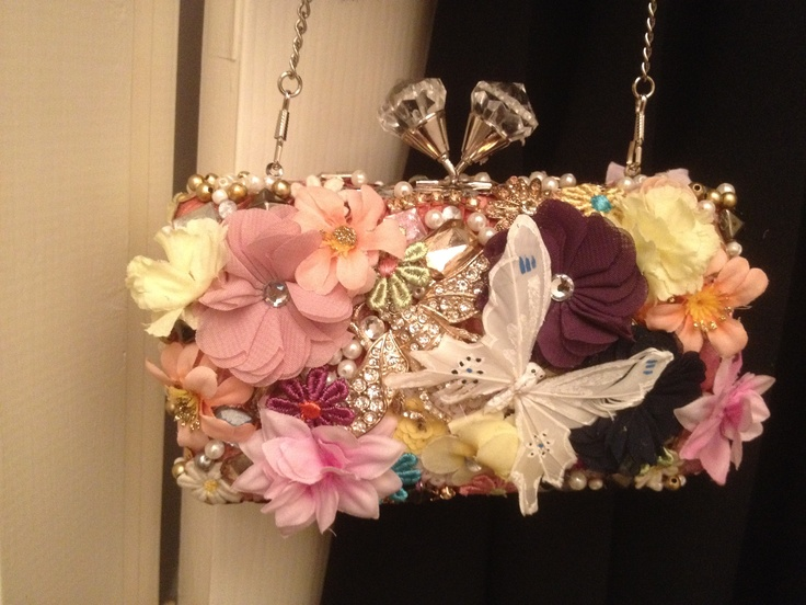 Bag by Emily o'regan millinery! No, it's not a hat, but it's my design!