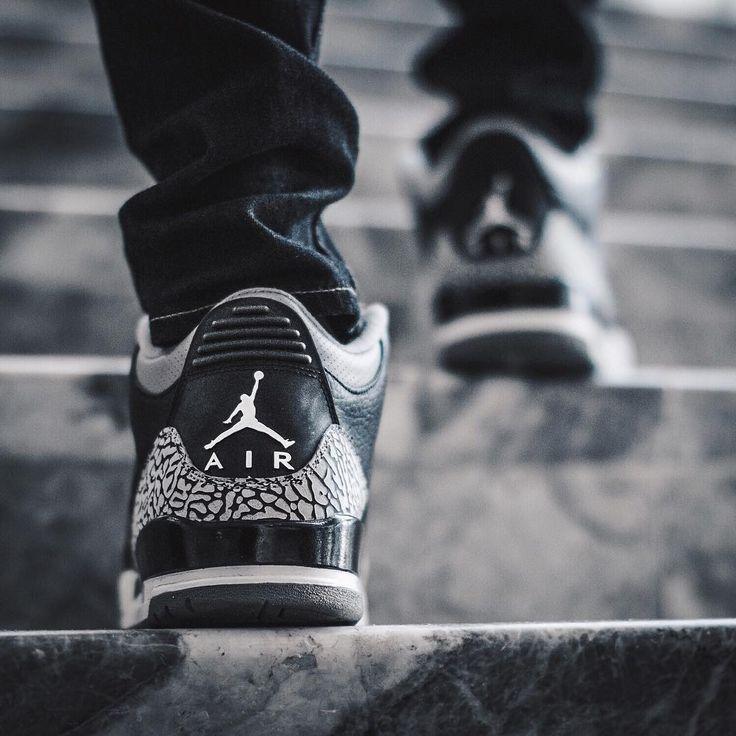 Nike Air Jordan 3 Retro Black Cement (by t_glick)