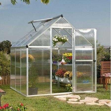 "Found it at Wayfair - Nature Twin Wall 7'1"" H x 6' W x 6' D Polycarbonate Greenhouse http://www.wayfair.com/daily-sales/p/Greenhouses-%26-Gardening-Gear-Nature-Twin-Wall-7%271%22-H-x-6%27-W-x-6%27-D-Polycarbonate-Greenhouse~PY1163~E18220.html?refid=SBP.rBAZEVRXnBG3wEN3cASyAjVhYGY-PUdnrqdC0JqTLyQ"