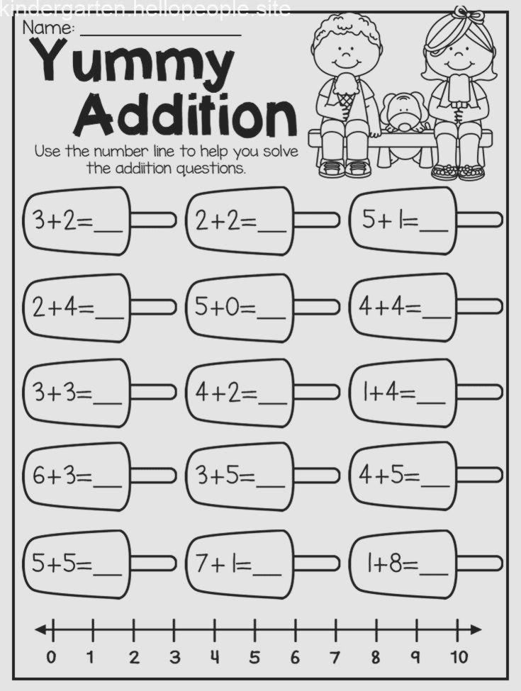 Summer Review Kindergarten Math And Literacy Worksheet Pack Brighthorizonskindergartenprep Kindergarten Kindergartenprep1stgr Kindergarten Addition Worksheets Literacy Worksheets Kindergarten Math Worksheets