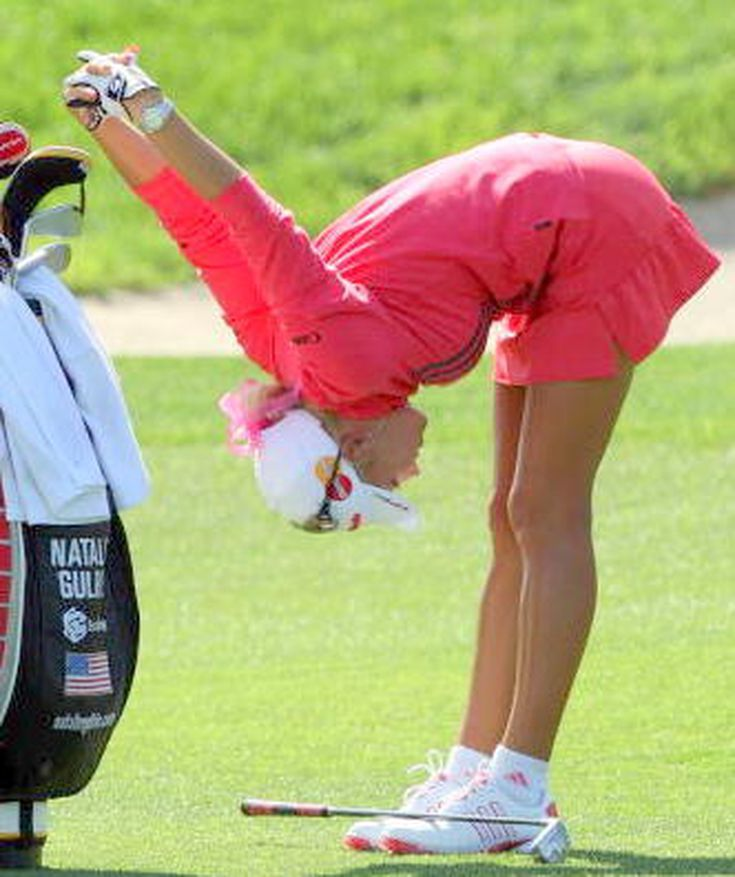 If you golf, you should do these stretches: Standing Forward Bend Stretch