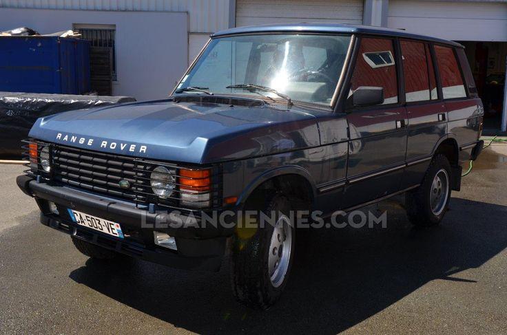 Ventes Auto - LAND ROVER Range Rover Vogue - 1989 - les annonces Les ANCIENNES com - ANCIENNES.NET