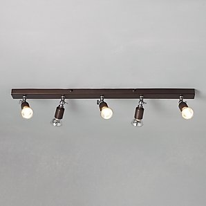 20 best products spotlights images on pinterest light fixtures buy john lewis churchill 5 spotlight ceiling bar online at johnlewis john lewis aloadofball Images