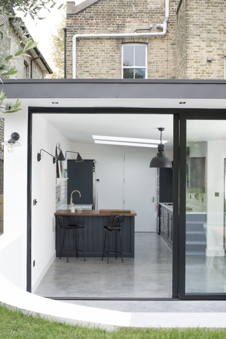 New Shaker-style kitchen, the East Dulwich kitchen in London by bespoke kitchen company deVol | Remodelista