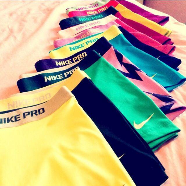 Nike Pro neeeeed: teal, blue, purple or black please!!