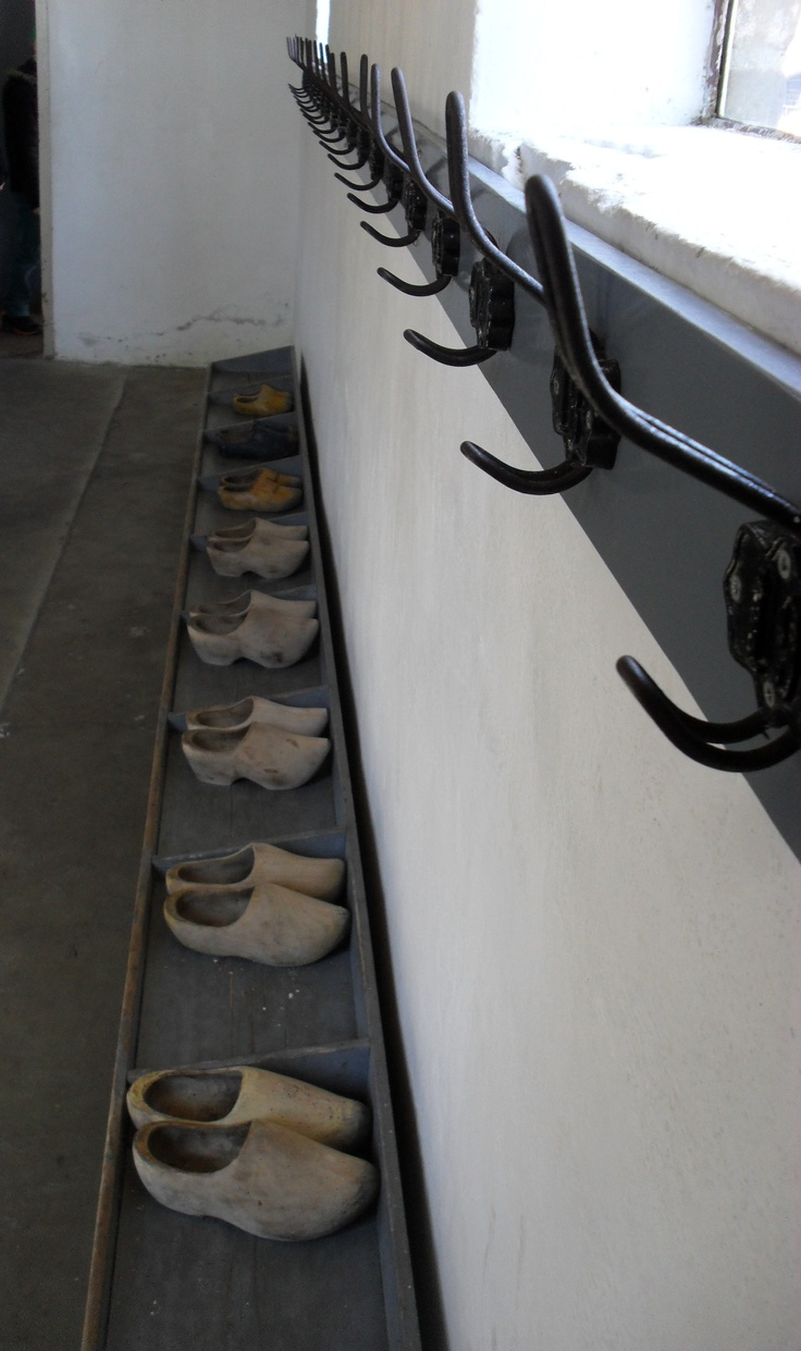 Wooden shoes in an old dutch classroom..many jears ago:-).
