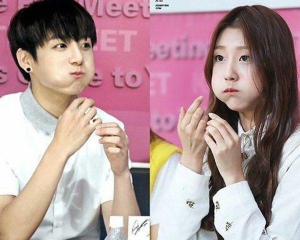 BTS's Jungkook Dating Lovelyz's Yein – Couple Dressing To Match - http://www.morningledger.com/btss-jungkook-dating-lovelyzs-yein/13118644/