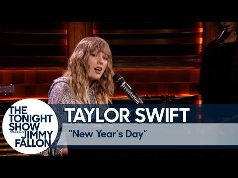 "Watch Taylor Swift Perform ""New Year's Day"" Live at Jimmy Fallon - Just Random Things"