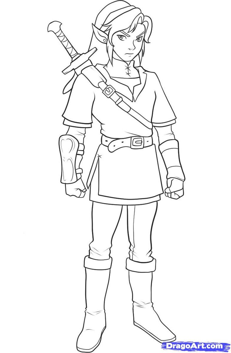 Zelda Coloring Page Coloring Pages of Epicness