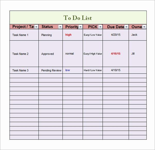 40 Daily To Do List Templates In 2020 To Do List List Template