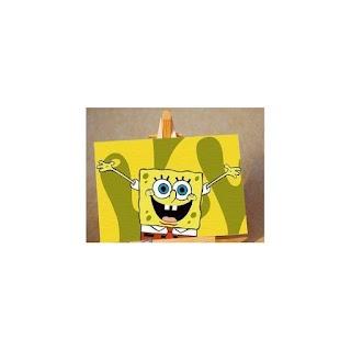 Melukis Sendiri SpongeBob Wins - Melukis Sendiri    SpongeBob Wins  10X15  termasuk : Kanvas, Cat Lengkap, Kuas, Stand untuk Melukis, Brightener
