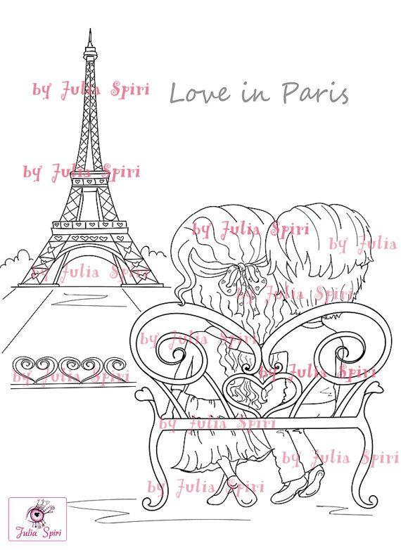 Digital Stamps Digi Stamp Coloring Parer crafting by JuliaSpiri