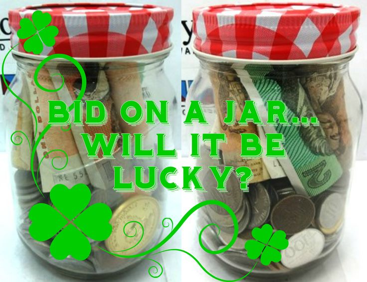 Will this jar be your lucky day?  Click to find out: