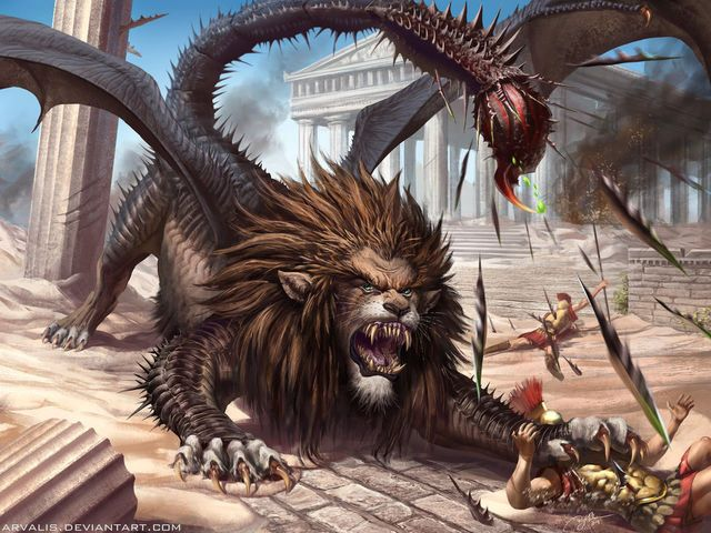 I got: Manticore! Which Greek Mythological Creature Are You? Mine: It's no wonder this creature's name rhymes with hardcore- and that's just what you are! All things dark and creepy are right up your alley and your always down for a little bit of conflict to spice things up. Me: HELLZ YEA!