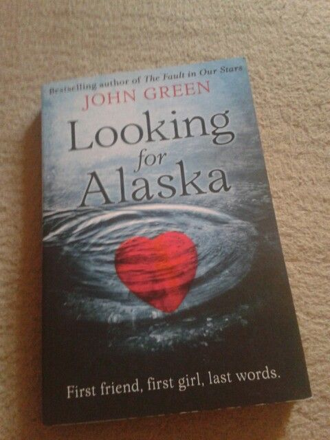 Looking for Alaska by John Green. One of my favourite books. It's amazing.