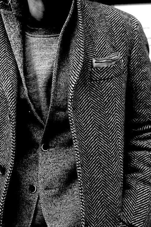 In the future, probably 80% of my wardrobe will be tweed.