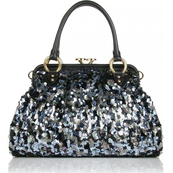 Marc Jacobs Sequin Stam Bag (106.165 RUB) ❤ liked on Polyvore featuring bags, handbags, purses, marc jacobs, bolsas, women, leather hand bags, handbags purses, sequin purse and marc jacobs handbags