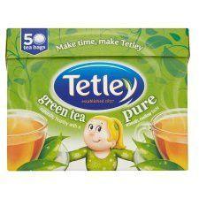 Tetley Pure Green 50 Tea Bags 100g