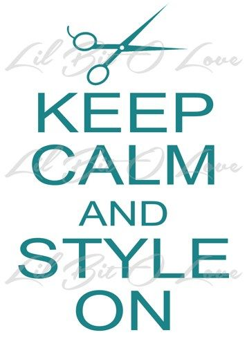 Keep calm and style on with scissors vinyl decal sticker for auto car