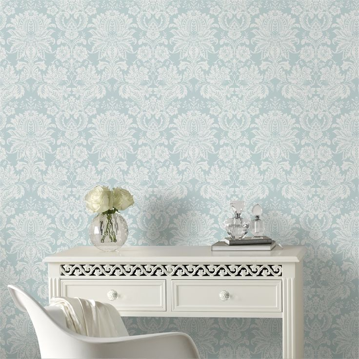 Superfresco Easy 52cm X 10m Blue Venetian Wallpaper