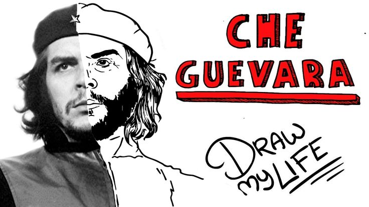 Este el el Draw My Life de Ernesto Che Guevara, el revolucionario cuya figura histórica es venerada y vilipendiada por igual y cuya imagen se ha convertido e...