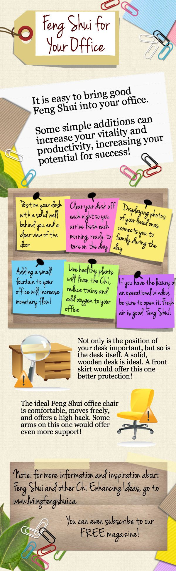 Some quick feng shui tips for the office