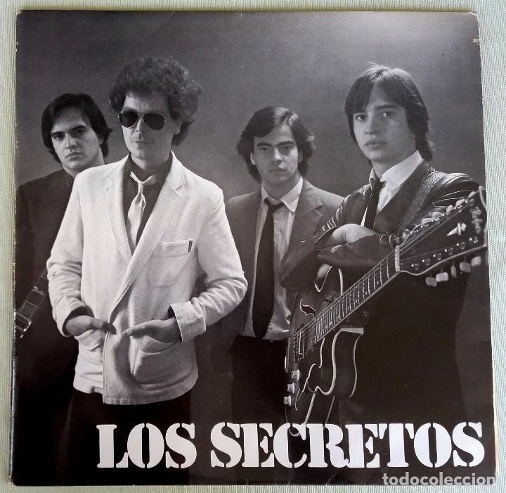 LOS SECRETOS. LP VINILO. POLYDOR. 1980 (Música - Discos - LP Vinilo - Grupos Españoles de los 70 y 80)
